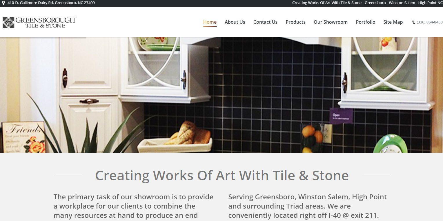 Greensborough Tile Greensboro Nc Unifiweb Website Design Development